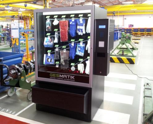 Distributeur automatique de gants et de masques