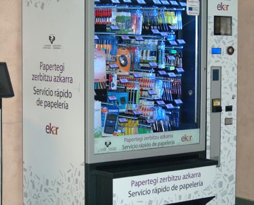 Distributore automatico: distributore materiale per ufficio