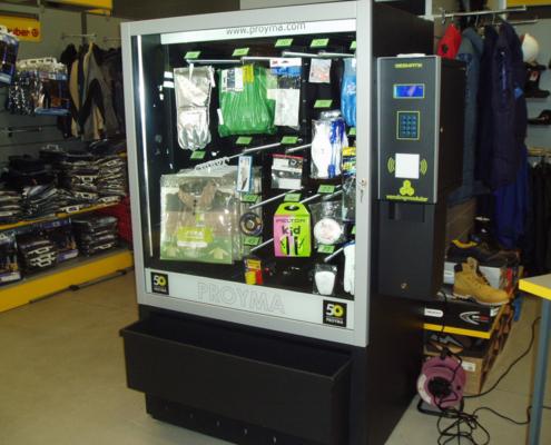 Distributore automatico di abiti da lavoro