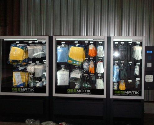Distributore automatico di abbigliamento da lavoro