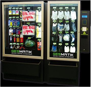 Gesmatil Máquina de Vending