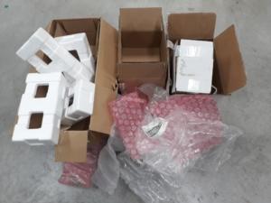 Residuos embalajes EPIS
