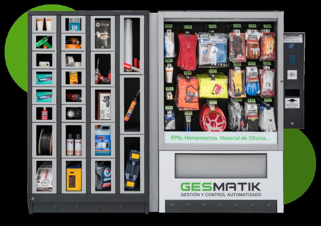 Máquina de vending industrial Gesmatik